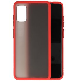 Kleurcombinatie Hard Case Samsung Galaxy A41 - Rood