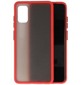 Samsung Galaxy A41 Hoesje Hard Case Backcover Telefoonhoesje Rood