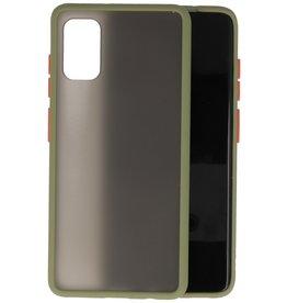 Samsung Galaxy A41 Hoesje Hard Case Backcover Telefoonhoesje Groen