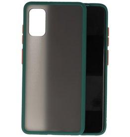 Samsung Galaxy A41 Hoesje Hard Case Backcover Telefoonhoesje Donker Groen