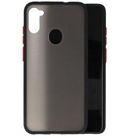 Kleurcombinatie Hard Case Samsung Galaxy A11 - Zwart