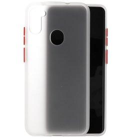 Samsung Galaxy A11 Hoesje Hard Case Backcover Telefoonhoesje Transparant