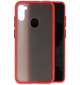 Kleurcombinatie Hard Case Samsung Galaxy A11 - Rood