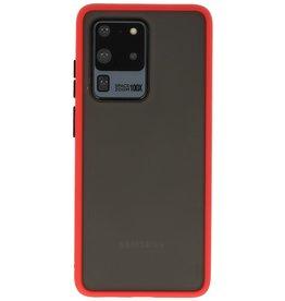 Samsung Galaxy S20 Ultra Hoesje Hard Case Backcover Telefoonhoesje Rood