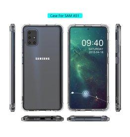 Schokbestendig Back Cover Hoesje Samsung Galaxy A51 Transparant
