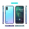 Schokbestendig Back Cover Hoesje Samsung Galaxy A01 Transparant