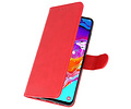 Bookstyle Wallet Cases Hoesje voor Samsung Galaxy M21 Rood