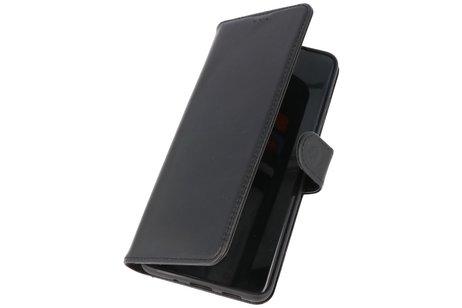 Rico Vitello Echt Lederen Booktype Hoesje voor Samsung Galaxy S20 Ultra - Zwart