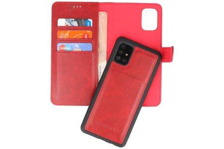 Rico Vitello 2 in 1 Book Case voor Samsung Galaxy A51 Rood