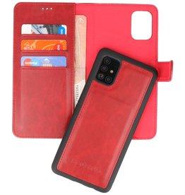Rico Vitello 2 in 1 Book Case Samsung Galaxy A71 - Rood