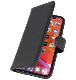 BAOHU Handmade Leer Telefoonhoesje iPhone X - Xs - Zwart