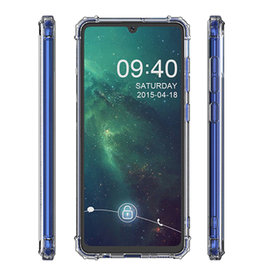 Schokbestendig Back Cover Hoesje Samsung Galaxy M31 Transparant