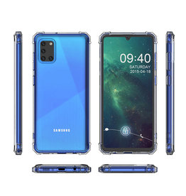 Schokbestendig Back Cover Hoesje Samsung Galaxy A31 Transparant