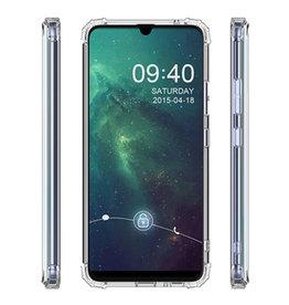 Schokbestendig Back Cover Hoesje Samsung Galaxy A20e Transparant