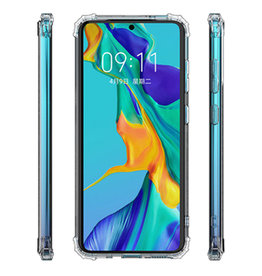 Schokbestendig Back Cover Hoesje Samsung Galaxy A71 5G Transparant