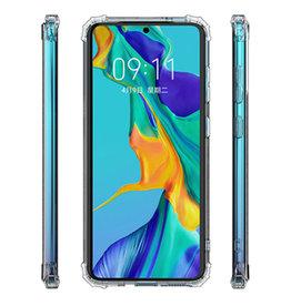 Schokbestendig Back Cover Hoesje Samsung Note 20 Transparant