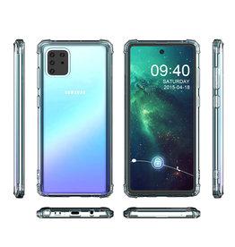 Schokbestendig Back Cover Hoesje Samsung Note 10 Lite Transparant
