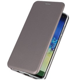 Slim Folio Book Case Samsung Galaxy A21s Grijs