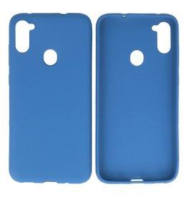BackCover Hoesje Color Telefoonhoesje Samsung Galaxy A11 Navy