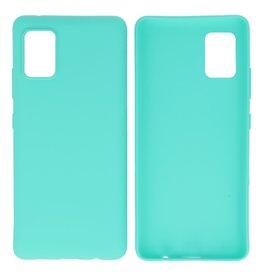 BackCover Hoesje Color Telefoonhoesje Samsung Galaxy A41 Turquoise