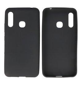 BackCover Hoesje Color Telefoonhoesje Samsung Galaxy A70e Zwart