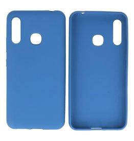 BackCover Hoesje Color Telefoonhoesje Samsung Galaxy A70e Navy