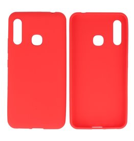 BackCover Hoesje Color Telefoonhoesje Samsung Galaxy A70e Rood