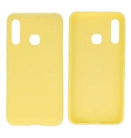 BackCover Hoesje Color Telefoonhoesje Samsung Galaxy A70e Geel