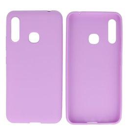 BackCover Hoesje Color Telefoonhoesje Samsung Galaxy A70e Paars