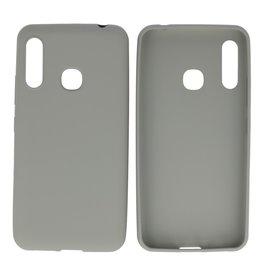 BackCover Hoesje Color Telefoonhoesje Samsung Galaxy A70e Grijs