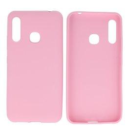 BackCover Hoesje Color Telefoonhoesje Samsung Galaxy A70e Roze