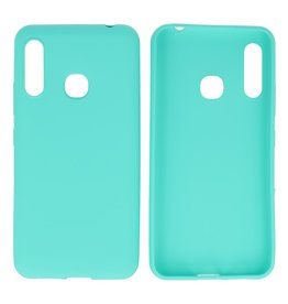 BackCover Hoesje Color Telefoonhoesje Samsung Galaxy A70e Turquoise
