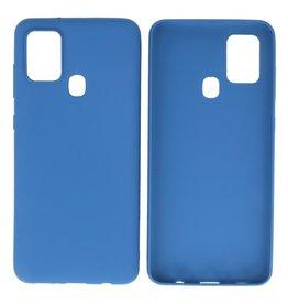 BackCover Hoesje Color Telefoonhoesje Samsung Galaxy A21s Navy