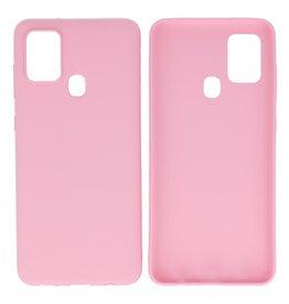 BackCover Hoesje Color Telefoonhoesje Samsung Galaxy A21s Roze