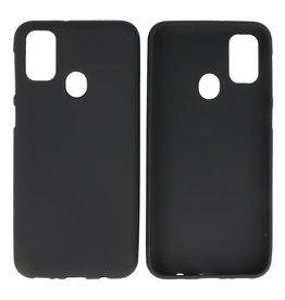 BackCover Hoesje Color Telefoonhoesje Samsung Galaxy M31 Zwart