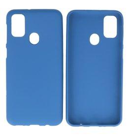 BackCover Hoesje Color Telefoonhoesje Samsung Galaxy M31 Navy