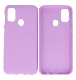 BackCover Hoesje Color Telefoonhoesje Samsung Galaxy M31 Paars