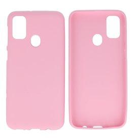 BackCover Hoesje Color Telefoonhoesje Samsung Galaxy M31 Roze
