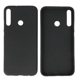 BackCover Hoesje Color Telefoonhoesje Huawei P40 Lite E - Zwart