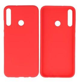 BackCover Hoesje Color Telefoonhoesje Huawei P40 Lite E - Rood