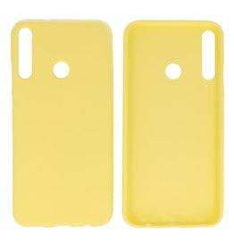 BackCover Hoesje Color Telefoonhoesje Huawei P40 Lite E - Geel
