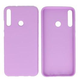 BackCover Hoesje Color Telefoonhoesje Huawei P40 Lite E - Paars