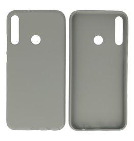 BackCover Hoesje Color Telefoonhoesje Huawei P40 Lite E - Grijs