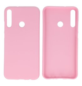 BackCover Hoesje Color Telefoonhoesje Huawei P40 Lite E - Roze