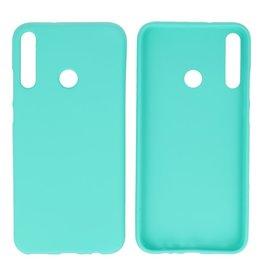 BackCover Hoesje Color Telefoonhoesje Huawei P40 Lite E - Turquoise
