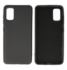 Fashion Color Backcover Hoesje Samsung Galaxy A41 Zwart