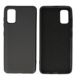 Samsung Galaxy A41 Hoesje Fashion Backcover Telefoonhoesje Zwart