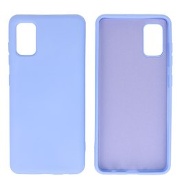 Fashion Color Backcover Hoesje Samsung Galaxy A41 Paars