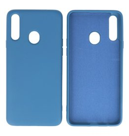 Fashion Color Backcover Hoesje Samsung Galaxy A20s Navy
