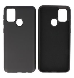 Fashion Color Backcover Hoesje Samsung Galaxy M31 Zwart
